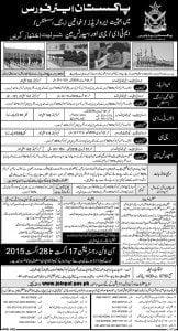 paf jobs 2015