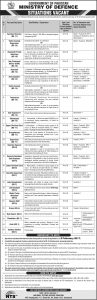 ministry of defence jobs through nts 2017