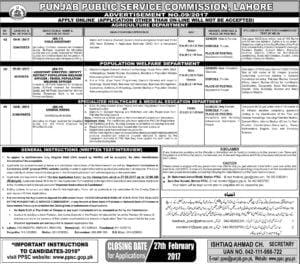 ppsc ad no 9-2017 jobs