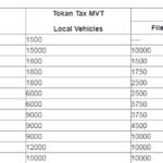Token Tax Punjab 2021-22 Rates